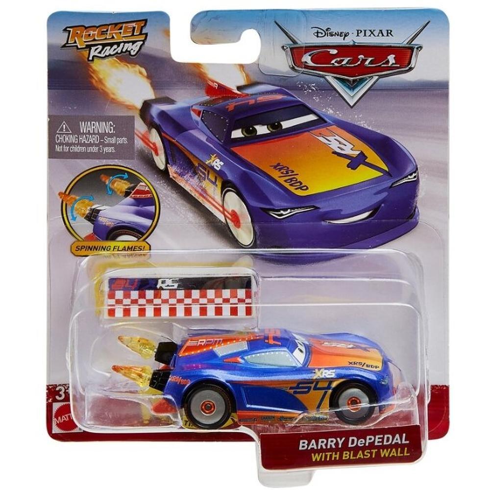Mattel Cars Экстремальные тачки 2020 GKB87/GKB91 Barry De-Pedal