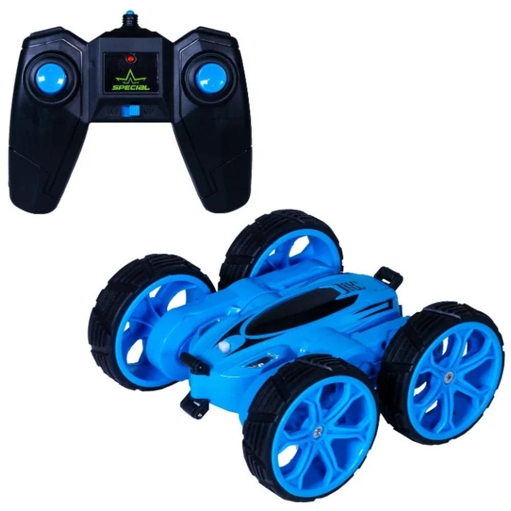 Фото - Радиоуправляемая машинка Wincars Машинка трюковая Акробат р/у 18 см с подсветкой, USB-зарядка DS-2018 синяя машинка wincars mercedes amg c63 dtm 1 24 на р у