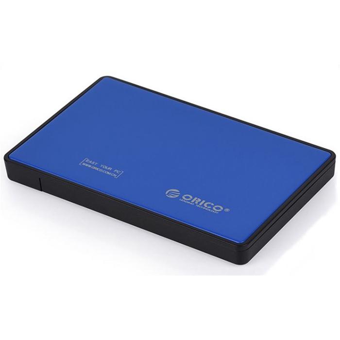 Фото - Корпус 2.5 Orico 2588US3 SATA, USB3.0 Blue корпус 2 5 orico 2588us3 sata usb3 0 black