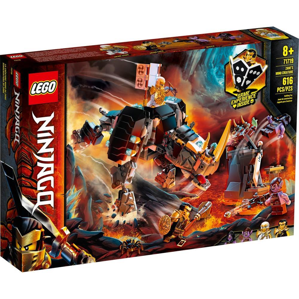 Фото - LEGO Ninjago Бронированный носорог Зейна 71719 конструктор lego ninjago бронированный носорог зейна