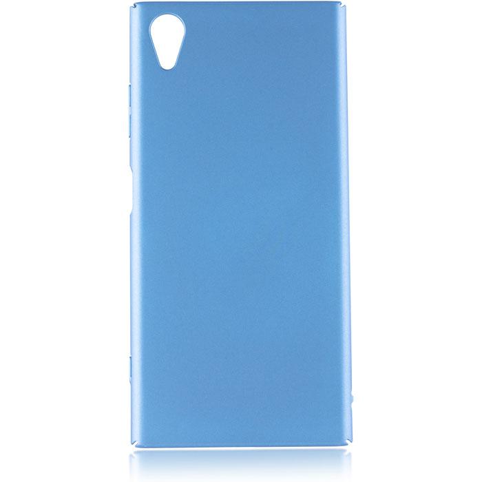 Чехол для Sony G3412 Xperia XA1 Plus Brosco накладка, синий чехол для sony h4113 xperia xa2 brosco накладка розовый