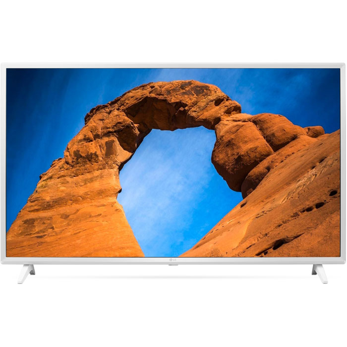 Фото - Телевизор 43 LG 43LK5990 (Full HD 1920x1080, Smart TV, USB, HDMI, Wi-Fi) белый телевизор 43 thomson t43fse1190 full hd 1920x1080 черный