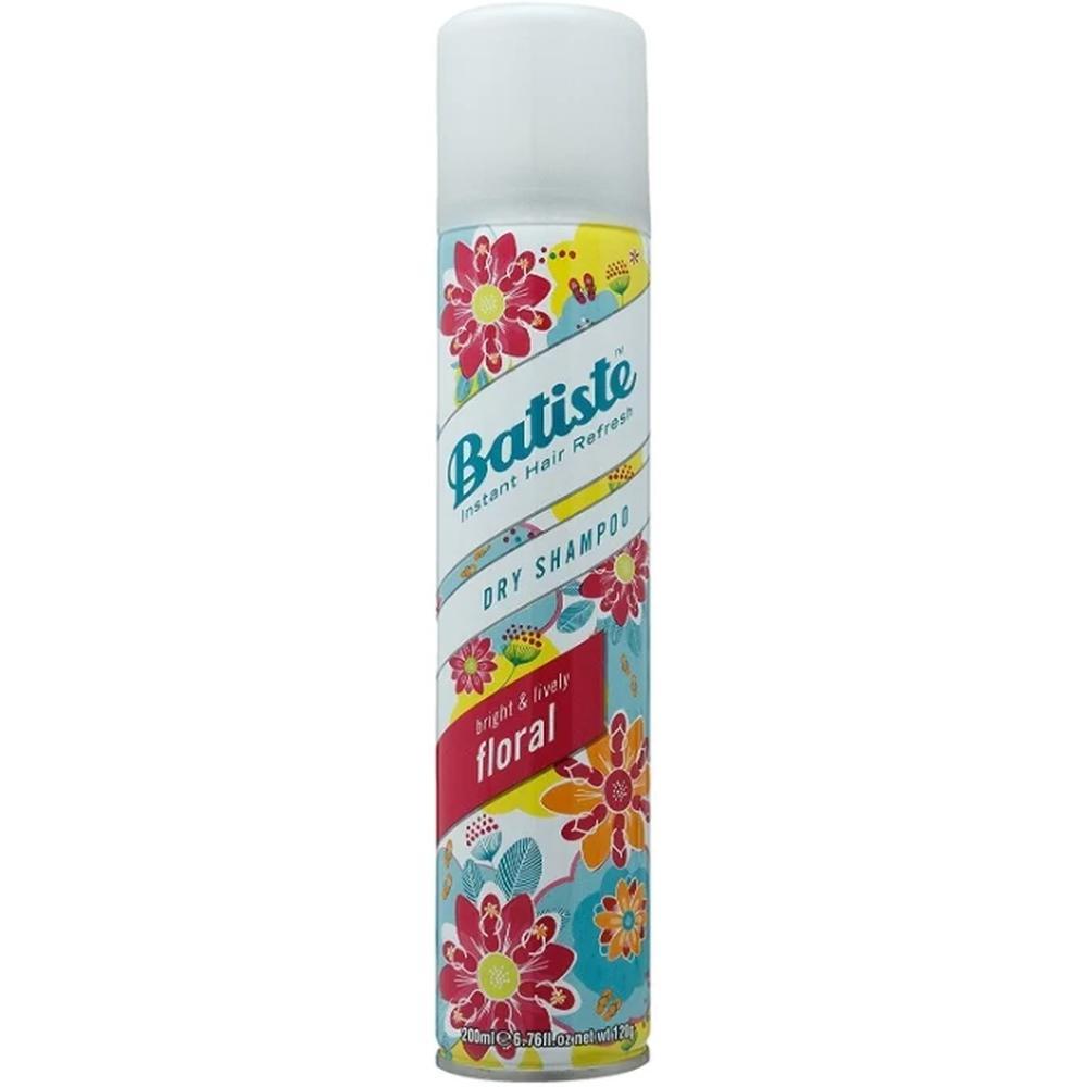 Фото - Batiste сухой шампунь Floral, 200 мл. batiste light brilliant blonde сухой шампунь 4х200 мл