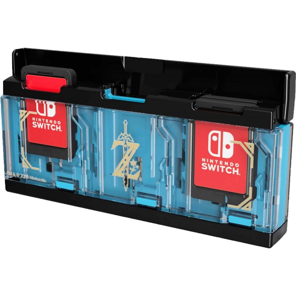 Nintendo Switch Кейс Hori (Zelda) для хранения 6 игровых карт консоли (NSW-097U)