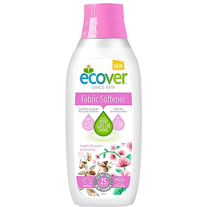 Фото - Экологичный кондиционер для белья Ecover Кондиционер для белья Apple Blossom & Almond, 750 мл. кондиционер для белья nihon softener premium rose 500 мл