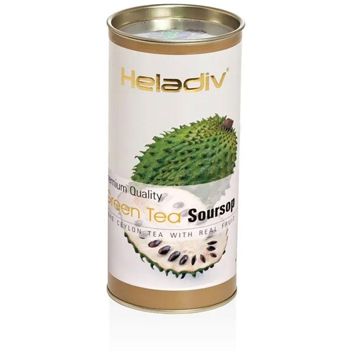 Фото - Чай зелёный Heladiv Soursop 100 г чай черный heladiv hd rasberry 100 gr round p t