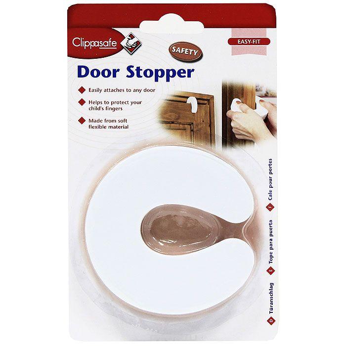 Блокировка дверей Clippasafe CL76ru (для межкомнатных дверей), белый
