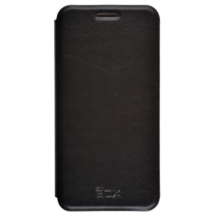Чехол для Samsung Galaxy On5 SM-G550F skinBOX Lux case черный чехол для сотового телефона skinbox lux 4660041407143 черный
