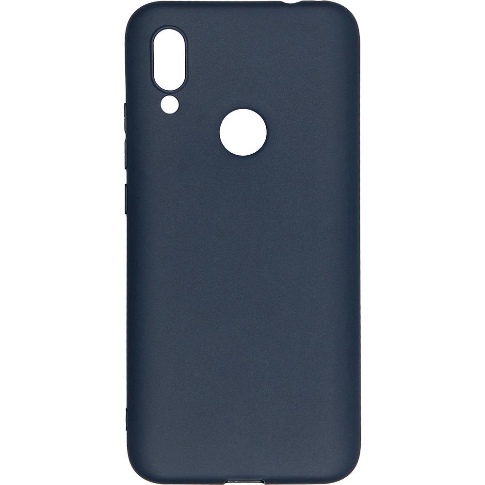 Фото - Чехол для Xiaomi Redmi 7 Pero софт-тач синий защитный чехол pero для xiaomi redmi 5 софт тач черный