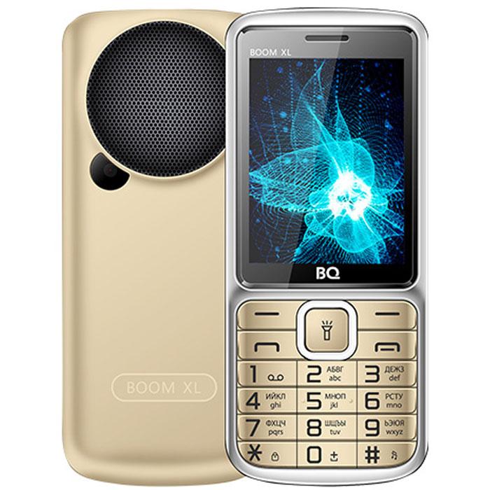 Мобильный телефон BQ Mobile BQ-2810 Boom XL Gold мобильный телефон bq elegant 3595 серый