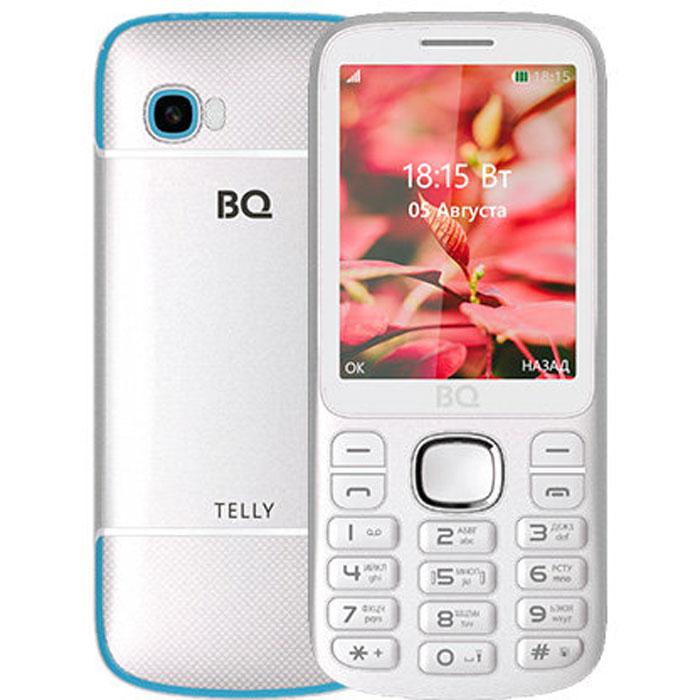 Мобильный телефон BQ Mobile BQ-2808 Telly White/Blue планшет bq mobile bq 7083g blue