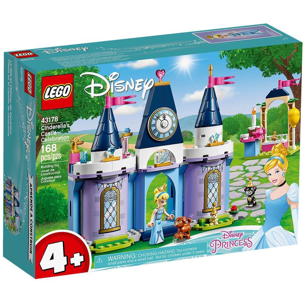 LEGO Disney Princess Праздник в замке Золушки 43178 lego disney princess 43178 конструктор лего принцессы дисней праздник в замке золушки