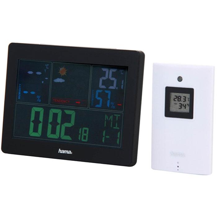 Погодная станция Hama Color EWS-1400 термометр hama ews 180