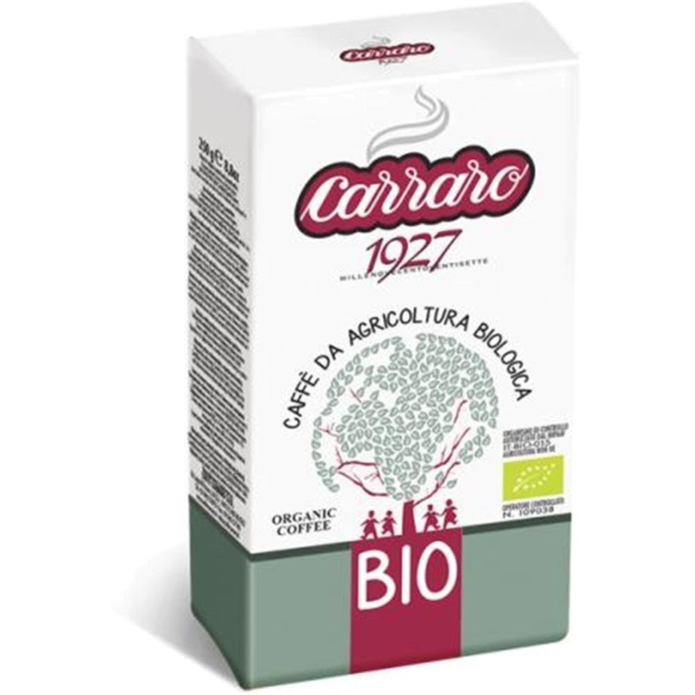 Фото - Кофе молотый Carraro BIO 250 гр в/у кофе молотый carraro espresso casa 250 гр в у