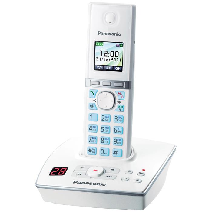 Радиотелефон Panasonic KX-TG8061RUW белый радиотелефон