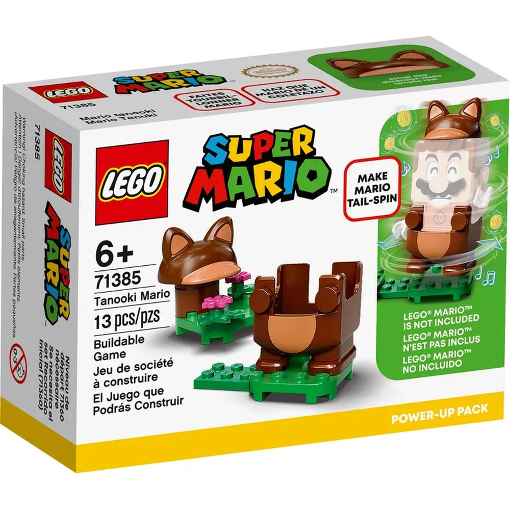 LEGO Super Mario Набор усилений Марио Тануки 71385
