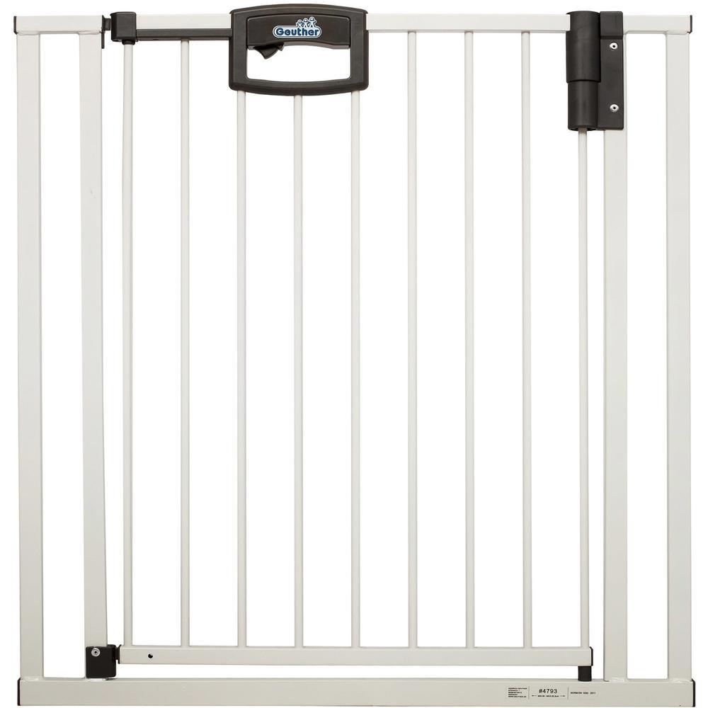 Ворота безопасности Geuther Easylock 84-92,5, белый