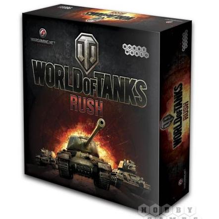 Настольная игра Hobby World World of Tanks: Rush 1341
