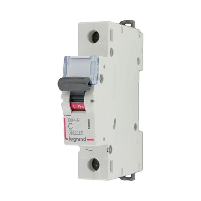 Автоматический выключатель Legrand 1P C 32А DX3 6кА 407266