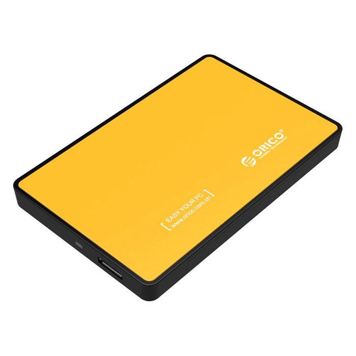 Фото - Корпус 2.5 Orico 2588US3 SATA, USB3.0 Yellow корпус 2 5 orico 2588us3 sata usb3 0 black