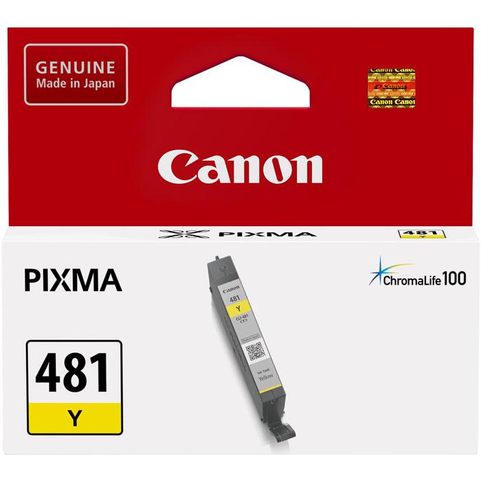 Фото - Картридж Canon CLI-481Y для TS6140, TR7540, TR8540, TS8140, TS9140. Желтый картридж canon cli 481xl y для canon pixma ts6140 ts8140ts ts9140 tr7540 tr8540 желтый 2046c001