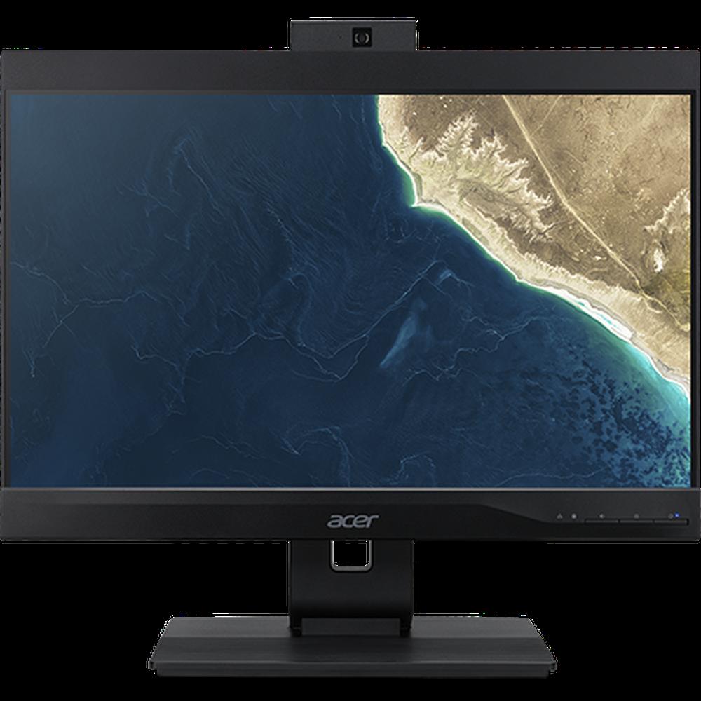 Моноблок Acer Veriton Z4860G 23.8 FullHD Pentium G5420/4Gb/128Gb SSD/DVD-RW/Kb+m/Linux Black