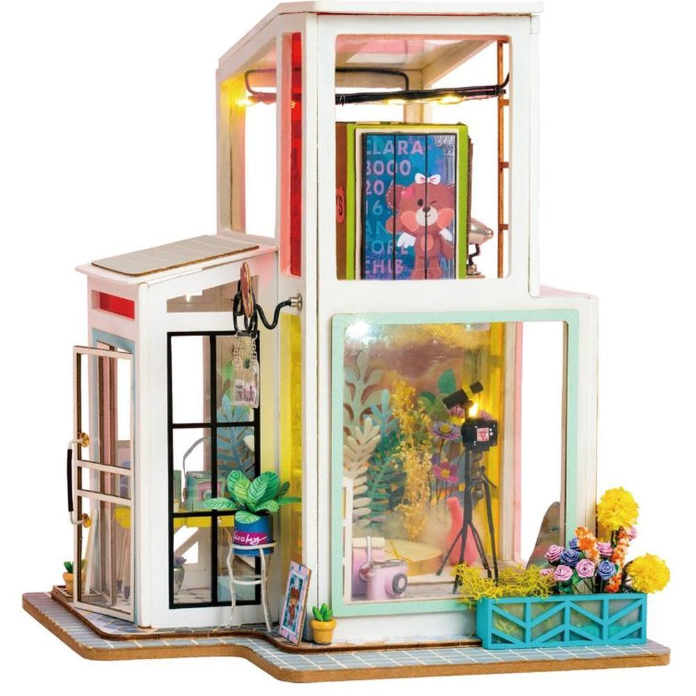 Румбокс ROBOTIME DIY House TD01W Time Studio конструктор diy house time studio td01w