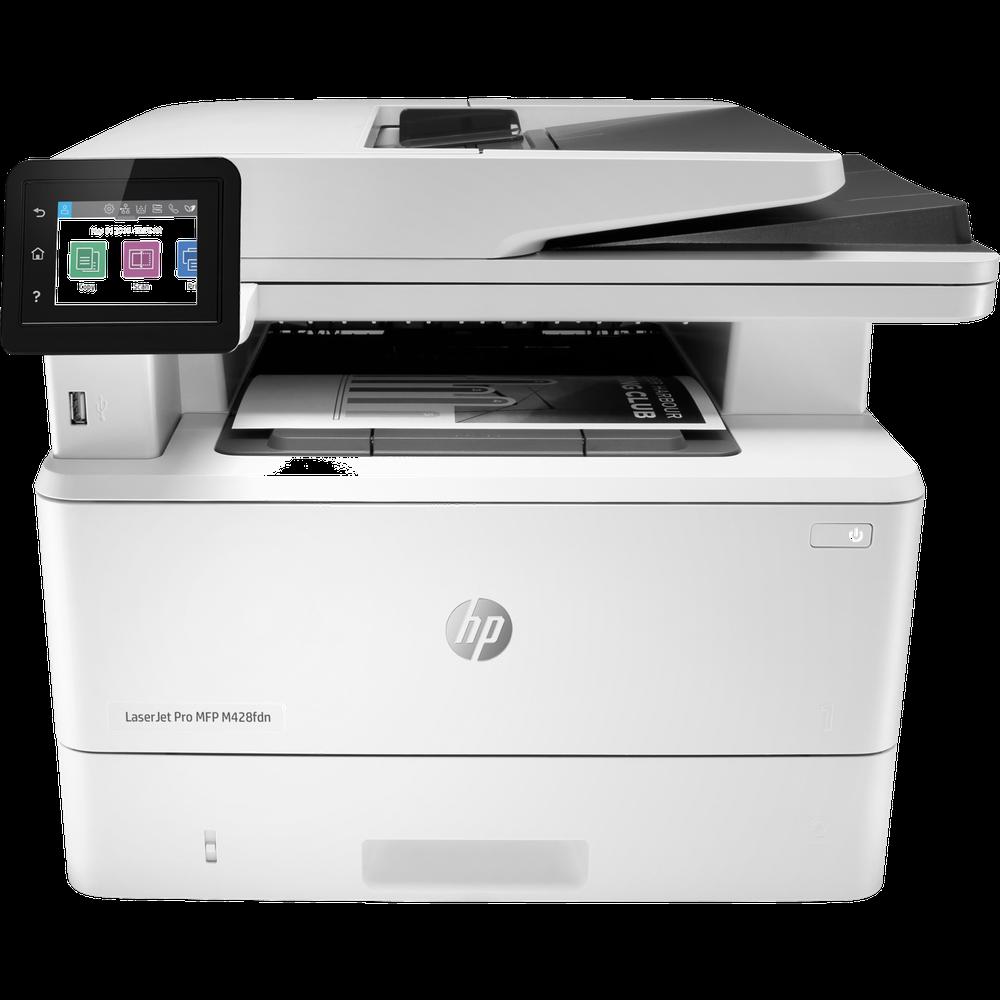 Фото - МФУ HP LaserJet Pro MFP M428fdn W1A32A ч/б А4 38ppm с дуплексом, автоподатчиком LAN ньюмен билл 10 фантастических способов добиться успеха
