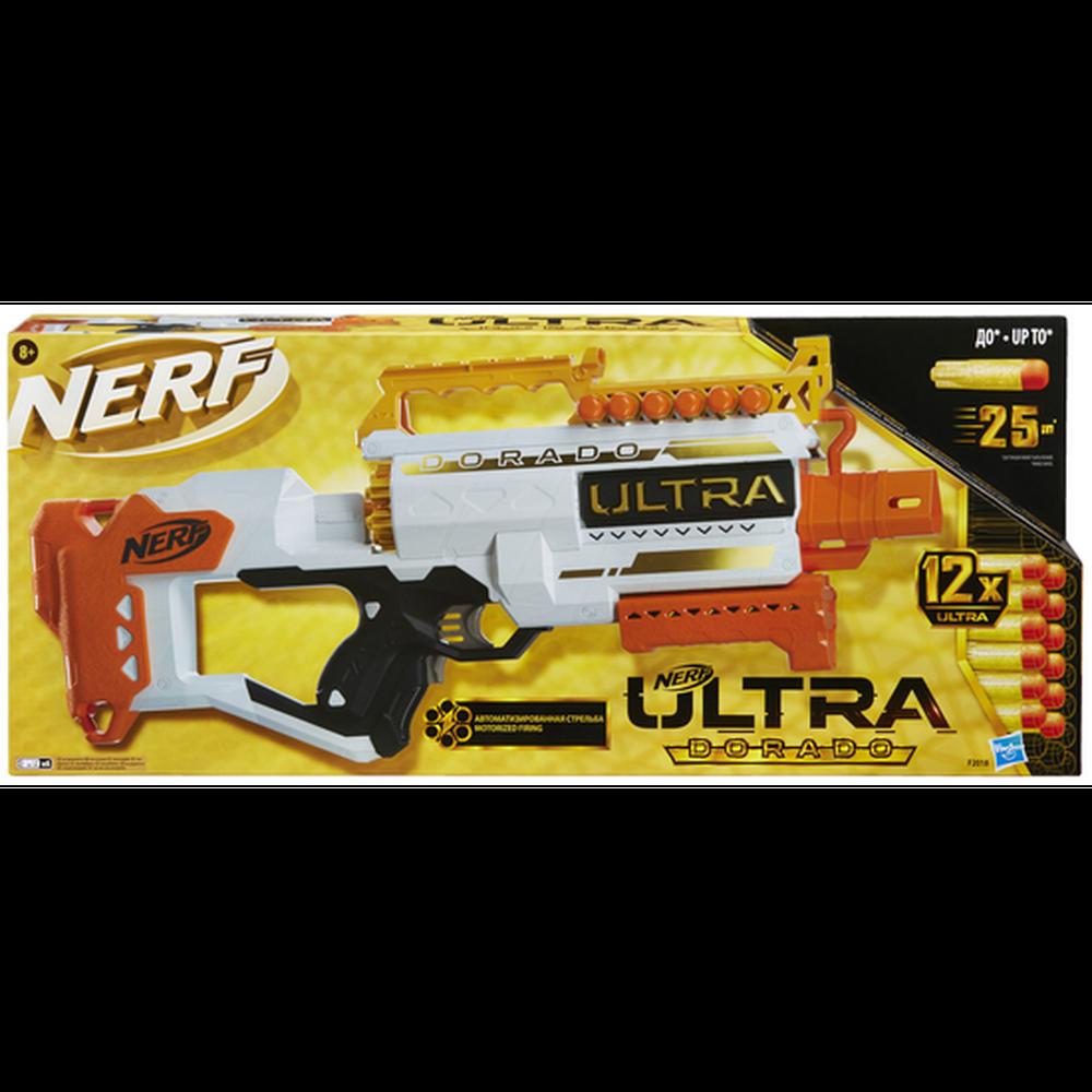 Бластер Hasbro Nerf Ультра Дорадо F2018ZR0 игрушечное оружие nerf ультра дорадо [f2018zr0]