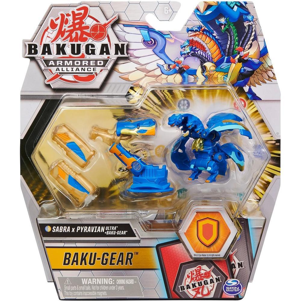Spin Master Bakugan 6059944 Бакуган Ультра Сабра x Пиравиан с Баку-силой недорого