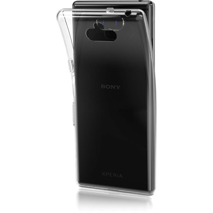 Чехол для Sony I4113 Xperia 10 Brosco силиконовая накладка, прозрачный чехол для sony h4113 xperia xa2 brosco накладка розовый