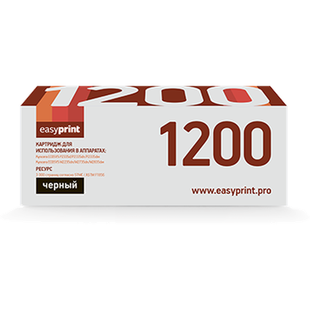Фото - Картридж EasyPrint LK-1200 (TK-1200) для Kyocera ECOSYS P2335d/P2335dn/P2335dw/M2235dn/M2735dn/M2835dw (3000 стр.) черный, с чипом liqui moly top tec atf 1200 для акпп 5л