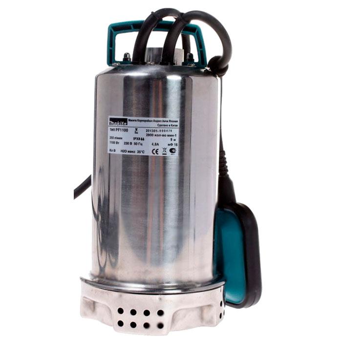 Дренажный насос для грязной воды Makita PF1110