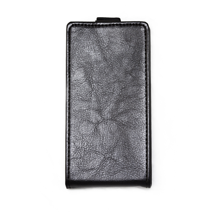 Чехол для Lenovo IdeaPhone A516 Skinbox Flip Cover, черный