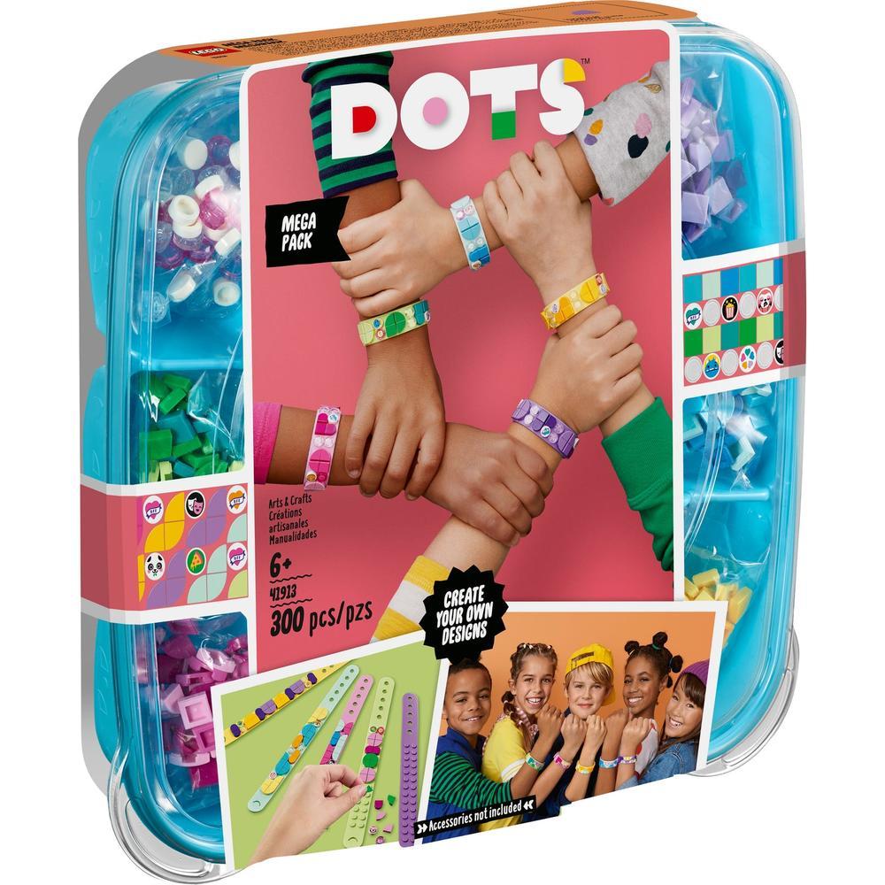 Фото - LEGO DOTs Большой набор для создания браслетов 41913 lego lego dots большой набор тайлов