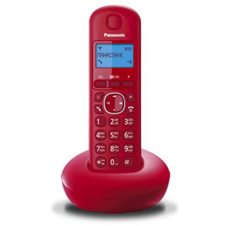 Фото - Радиотелефон Panasonic KX-TGB210RUR красный радиотелефон panasonic kx tgb210 красный