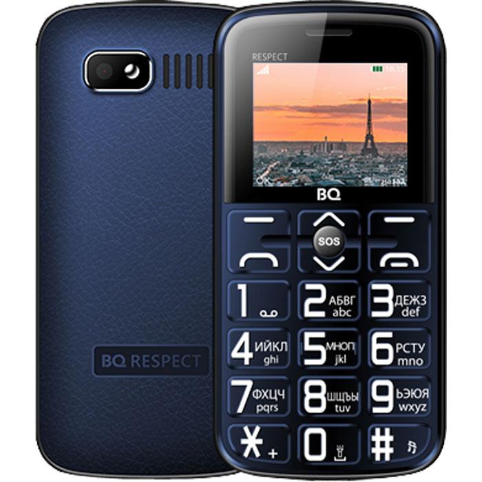 Мобильный телефон BQ Mobile BQ-1851 Respect Blue планшет bq mobile bq 7083g blue