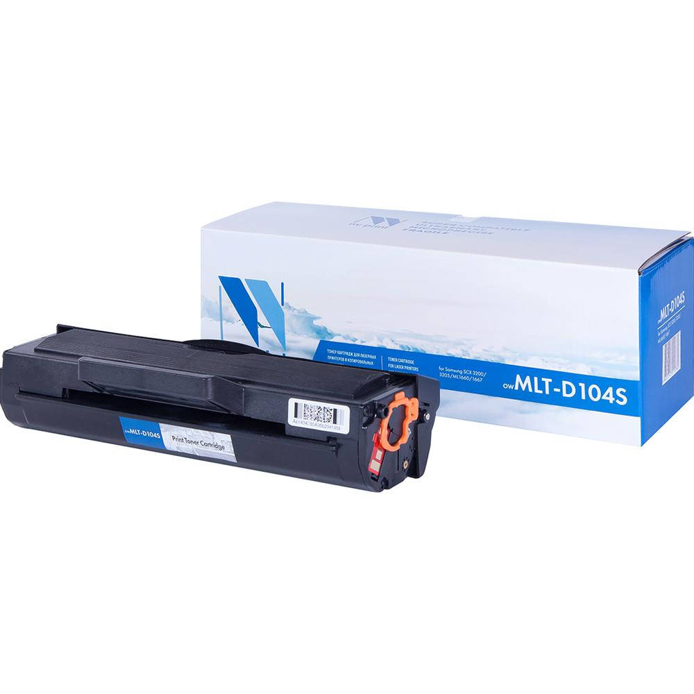 Картридж NV-Print NVP- MLT-D104S для Samsung ML-1660/1665 SCX-3200/3217 2шт