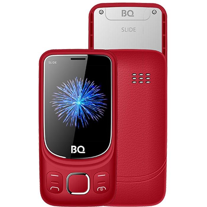 Мобильный телефон BQ Mobile BQ-2435 Slide Red сотовый телефон bq 2435 slide black