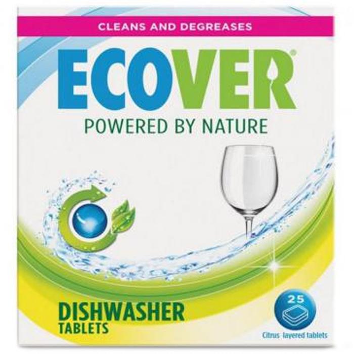 бытовая химия ecover таблетки для посудомоечной машины 3 в 1 0 5 кг Ecover Экологические таблетки для посудомоечной машины, 25 шт.