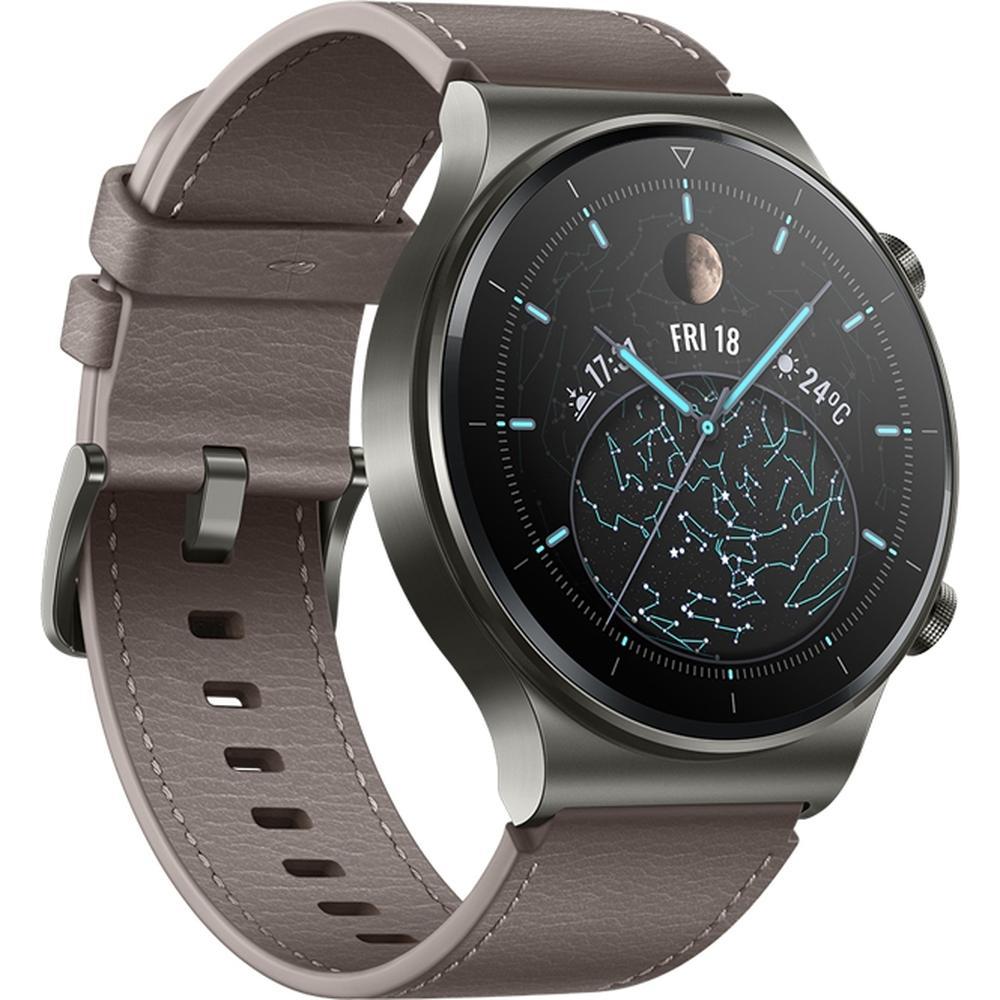 Умные часы Huawei Watch GT 2 Pro Vidar-B19V Gray смарт часы huawei watch gt 2 pro vidar b19s 1 39 серебристый черный [55025736]