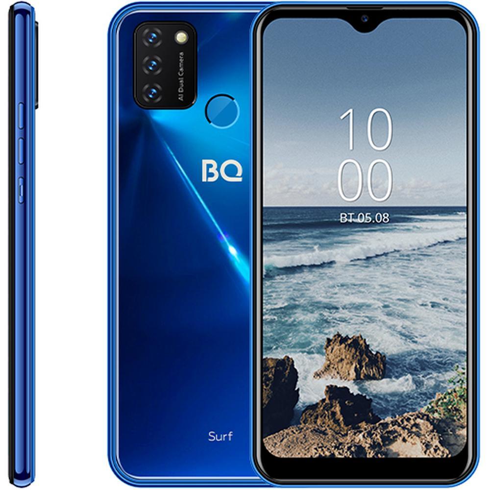 Фото - Смартфон BQ Mobile BQ-6631G Surf Chameleon Blue смартфон bq mobile bq 4030g nice mini blue