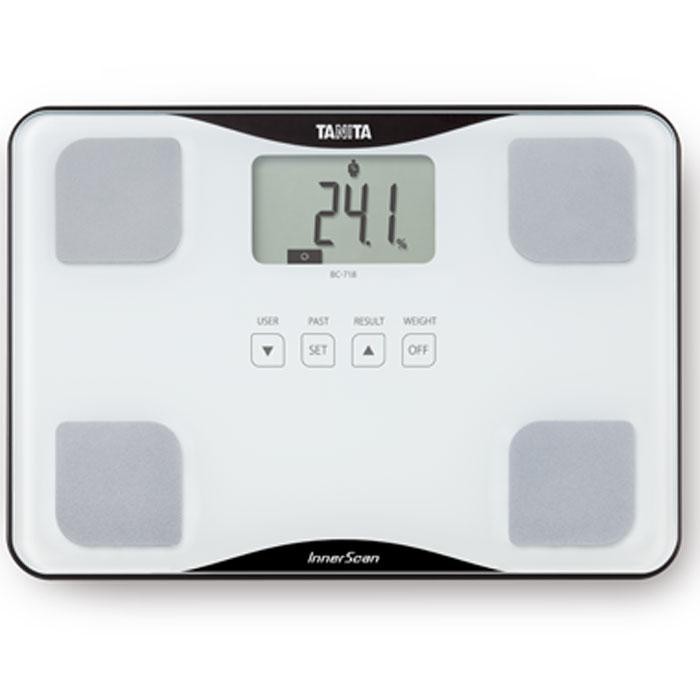 Весы напольные Tanita BC-718 WH весы напольные tanita bc 313 white