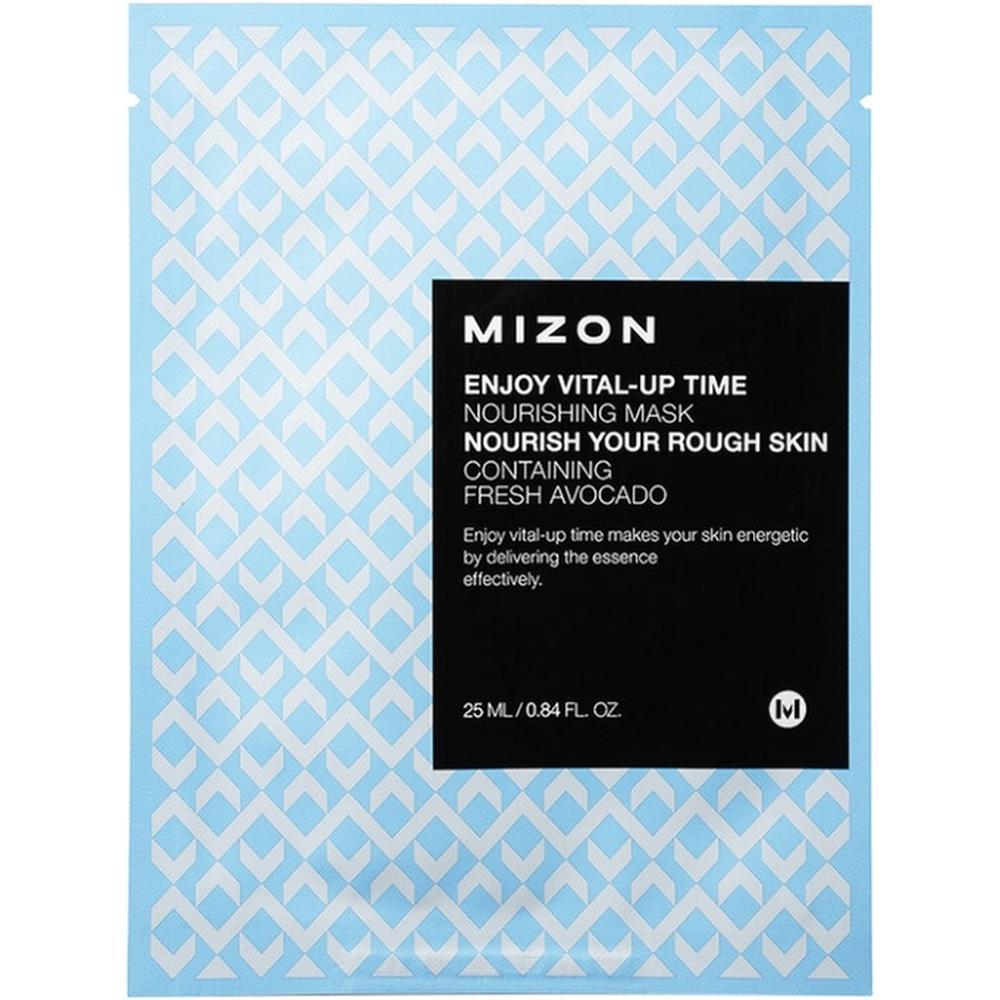 MIZON Тканевая питательная маска для лица Enjoy Vital-Up Time Nourishing Mask , 25 мл. недорого