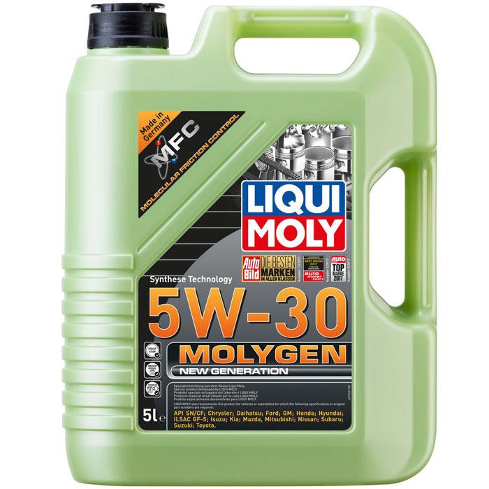 Масло моторное Liqui Moly Molygen New Generation 5W-30 5л