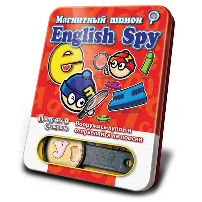 Магнитная игра Mack&Zack English Spy SP_ABC