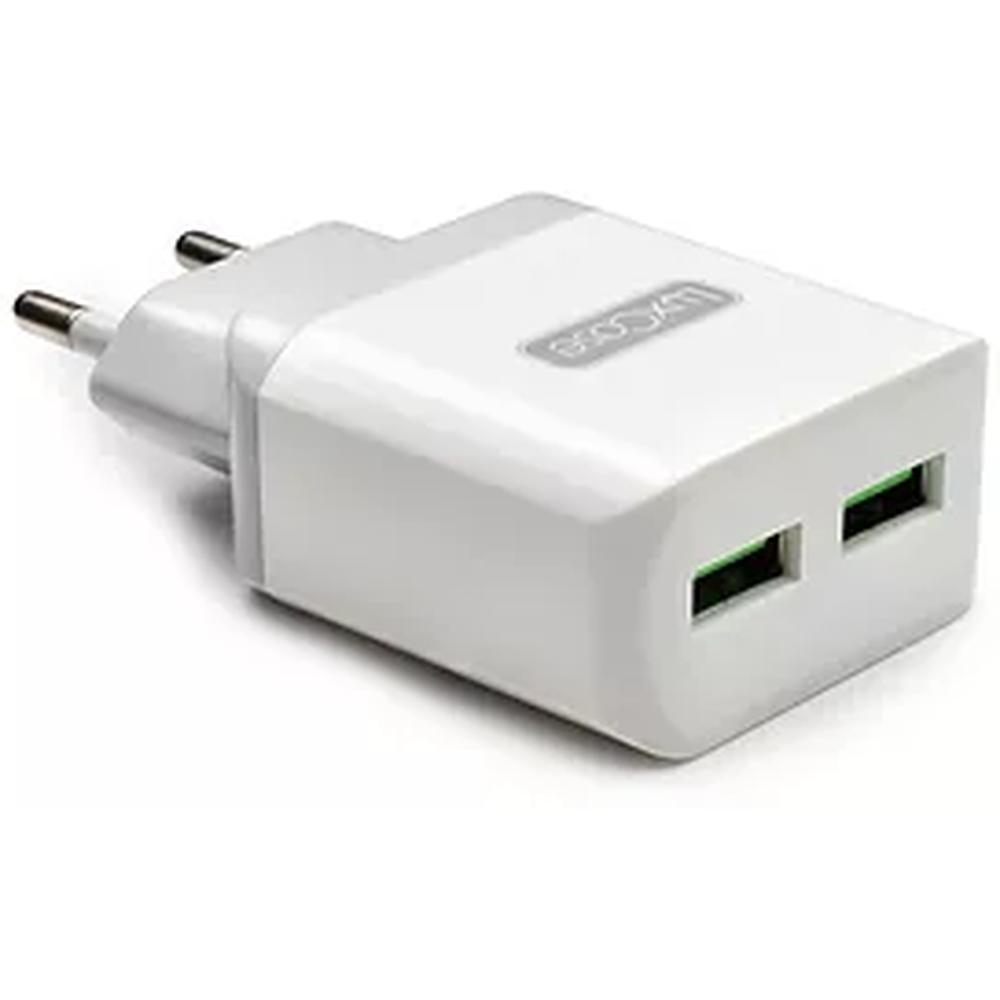 Фото - Сетевое зарядное устройство LuxCase QY-15G 2U2 2xUSB 2.4A серый замараева з социальная защита и социальное обслуживание населения учебник isbn 9785394028236