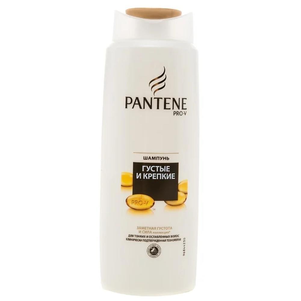 Pantene шампунь Густые и крепкие, 250 мл. pantene бальзам ополаскиватель густые и крепкие для тонких слабых волос 200 мл