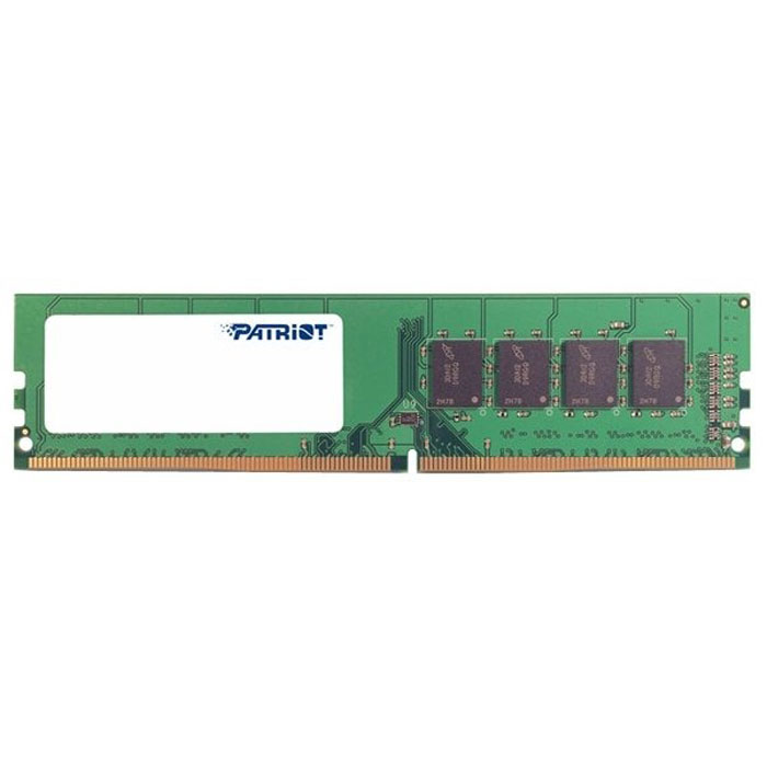 Фото - Модуль памяти DIMM 4Gb DDR4 PC21300 2666MHz PATRIOT (PSD44G266681) модуль памяти so dimm ddr4 4gb pc21300 2666mhz crucial ct4g4sfs8266