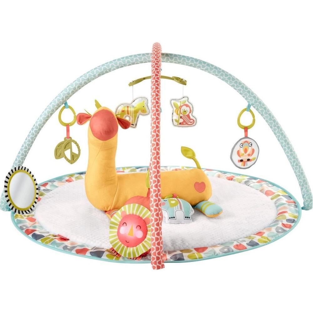Фото - Развивающий коврик Mattel Fisher-Price Жираф GMG07 развивающий коврик fisher price джамбо